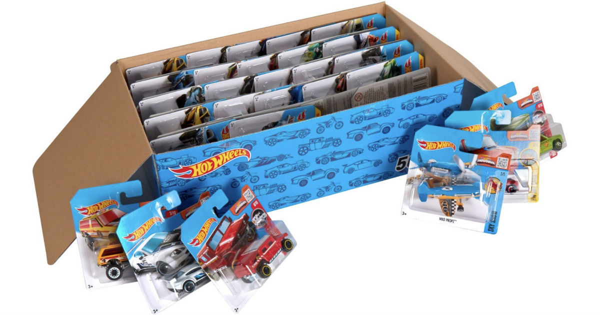 Hot Wheels Cars 50-Pack ONLY $29.97 Shipped