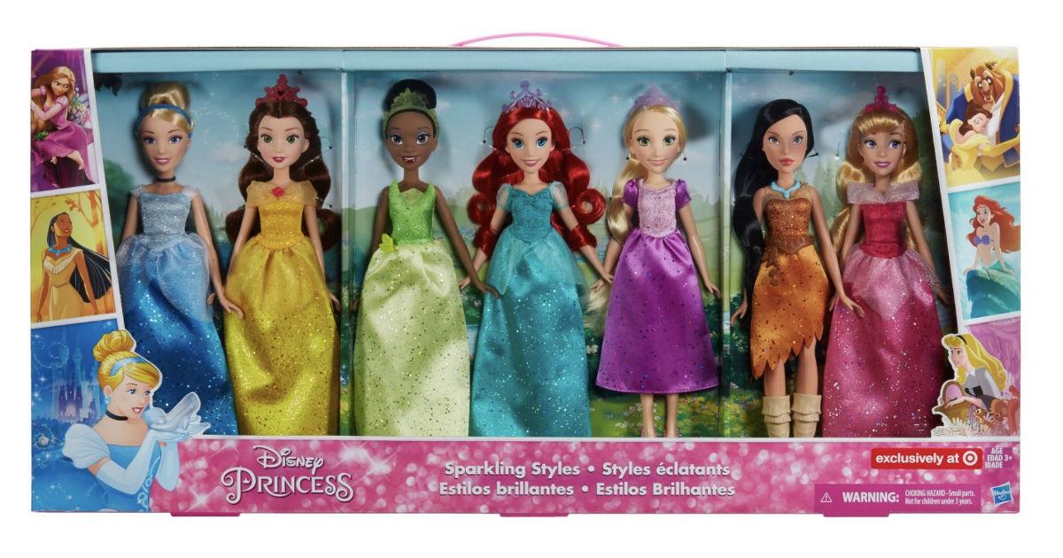 Disney Princess Sparkling Dolls ONLY $39.99 (Reg. $65) Shipped