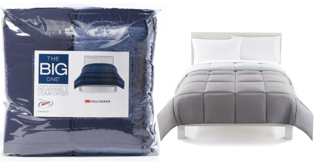 The Big One Comforters ONLY $16.99 at Kohl's (Reg. $120)