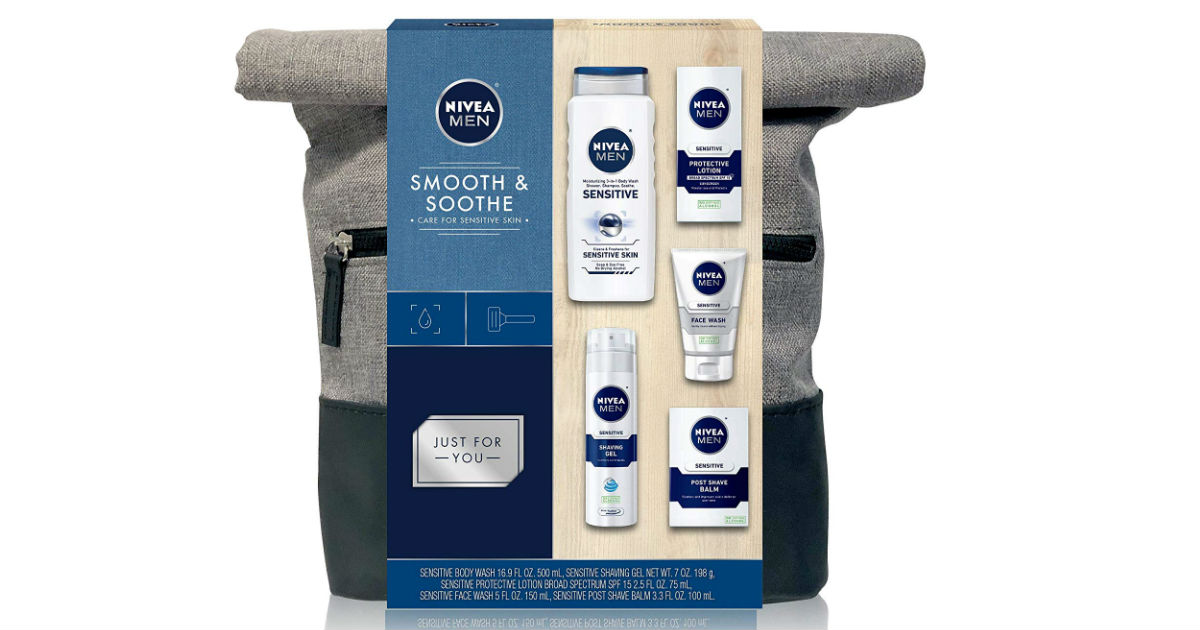 Save 50% on Nivea for Men Gift Set ONLY $12.50 (Reg. $25)