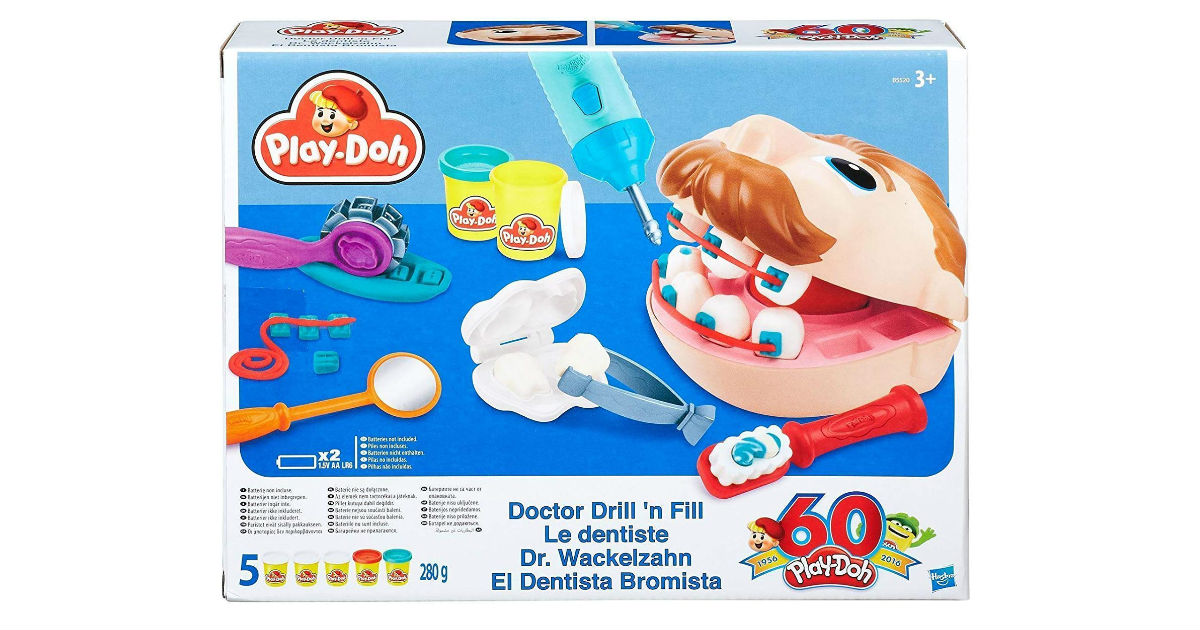 Play-Doh Doctor Drill 'n Fill Pack ONLY $8.27 Shipped (Reg. $15)