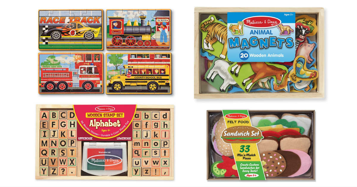 Today Only: Save 50% on Melissa & Doug Toys on Amazon