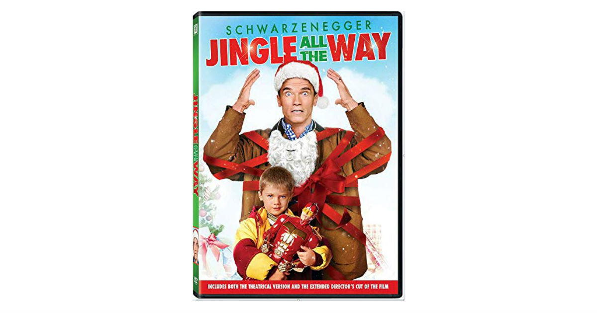 Jingle All the Way on DVD ONLY $3.99 Shipped