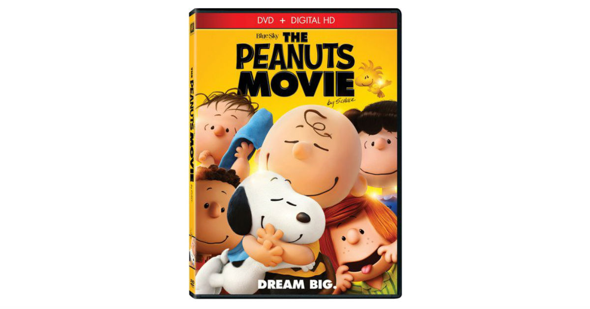The Peanuts Movie ONLY $4.00 Shipped on Amazon