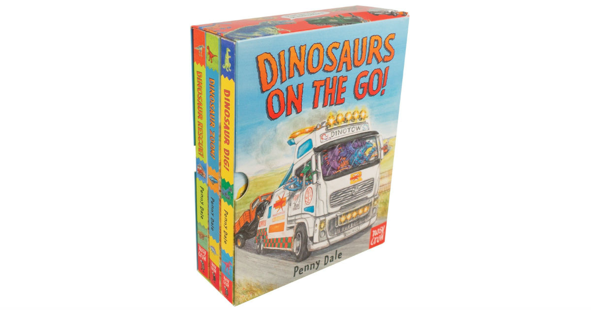 Dinosaurs on the Go Book Set ONLY $10.91 (Reg. $20)
