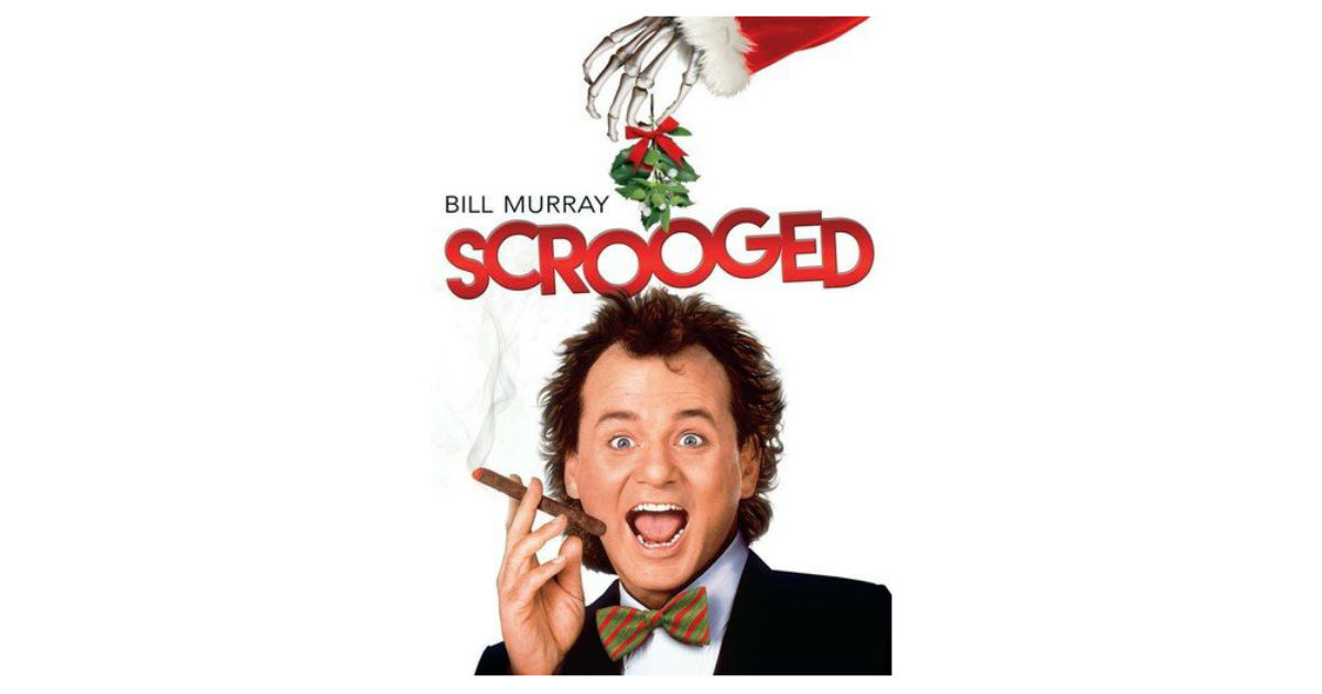 Scrooged on DVD ONLY $4.00 Shipped on Amazon