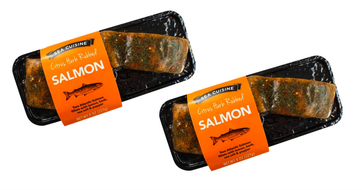 Sea Cuisine Atlantic Salmon ONLY $4.00 at Target (Reg. $9.99)