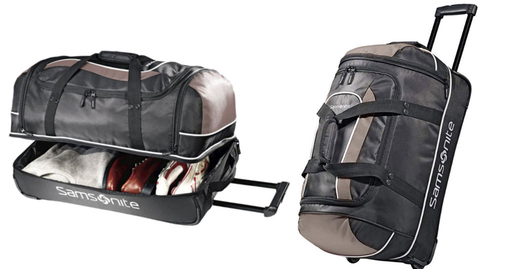 Samsonite 22-Inch Wheeled Duffel ONLY $19.99 Shipped