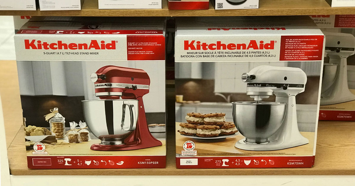 KitchenAid Classic Plus Stand Mixer ONLY $169.99 (Reg $320)