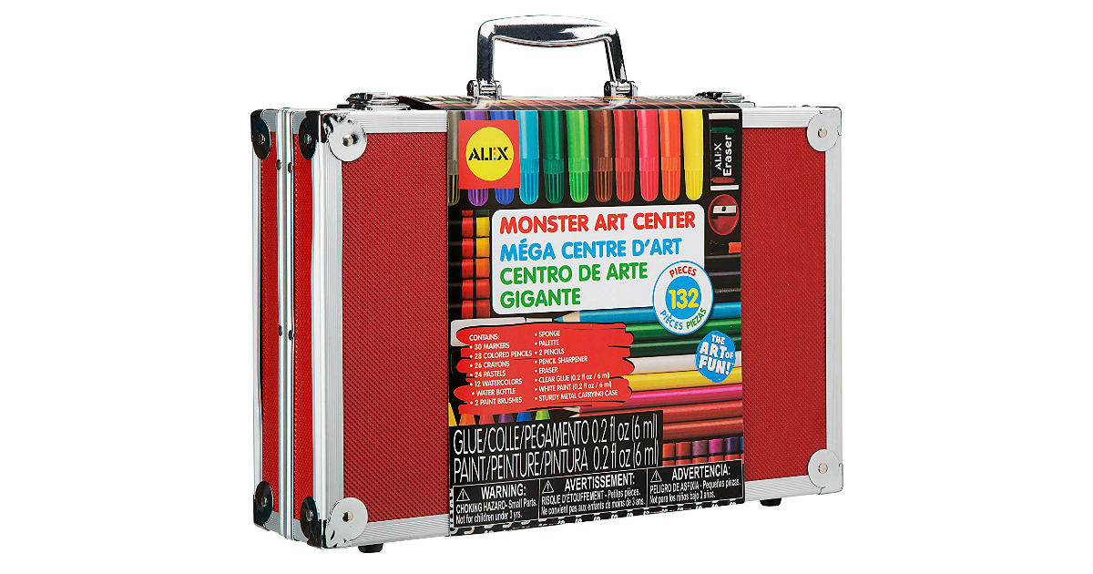 Save 81% on Alex Art Monster Art Center ONLY $17.18 (Reg. $89)