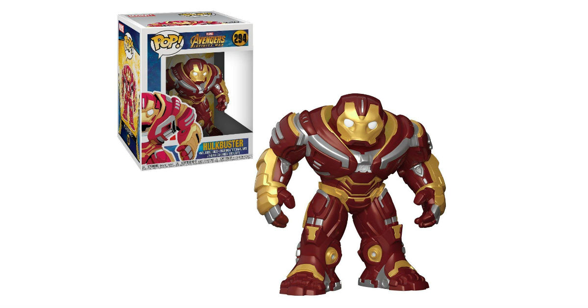 Funko Pop Avengers Hulk Buster Figure ONLY $8.78 (Reg. $17)