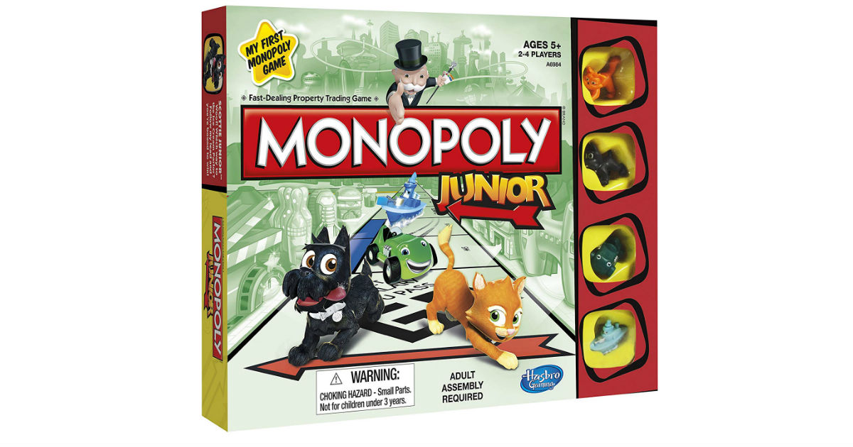 Monopoly Junior Board Game ONLY $7.99 (Reg. $17)