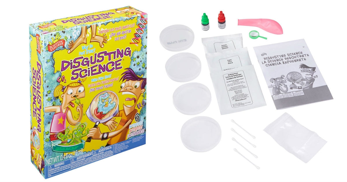 Scientific Explorer Disgusting Science Kit ONLY $6.32 (Reg. $24)