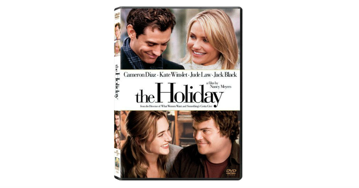 The Holiday on DVD ONLY $4.00 Shipped on Amazon