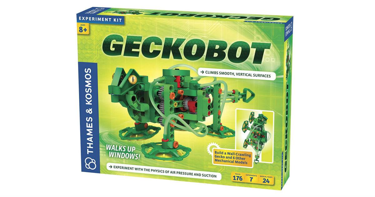 Geckobot Wall Climbing Robot ONLY $21.59 (Reg. $50)