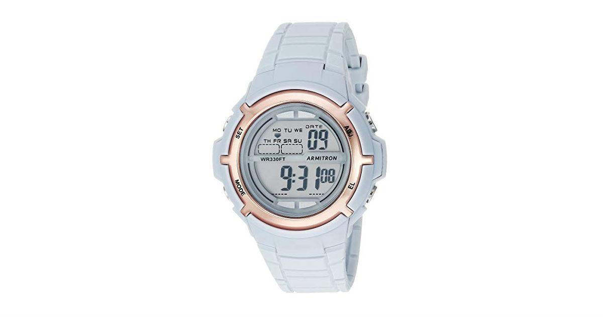 Armitron Rose Gold Tone Women's Watch ONLY $13.12 (Reg. $25)