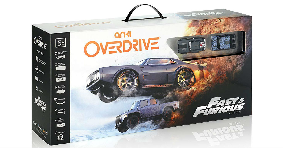 Anki Overdrive: Fast & Furious Edition ONLY $96.24 (Reg. $170)