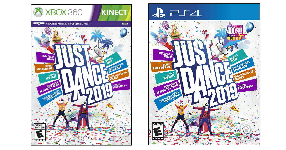 Just Dance 2019 ONLY $25.99 Shipped (Reg. $40)