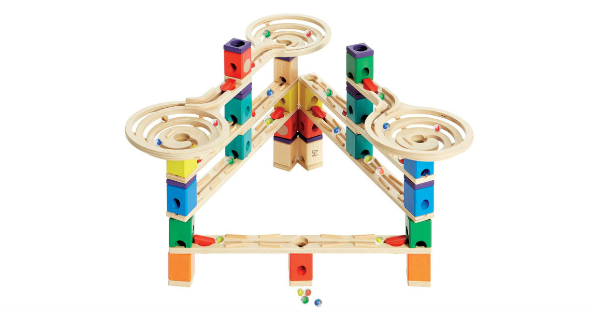 Save 58% on Hape Wooden Marble Run ONLY $63.69 (Reg. $150)