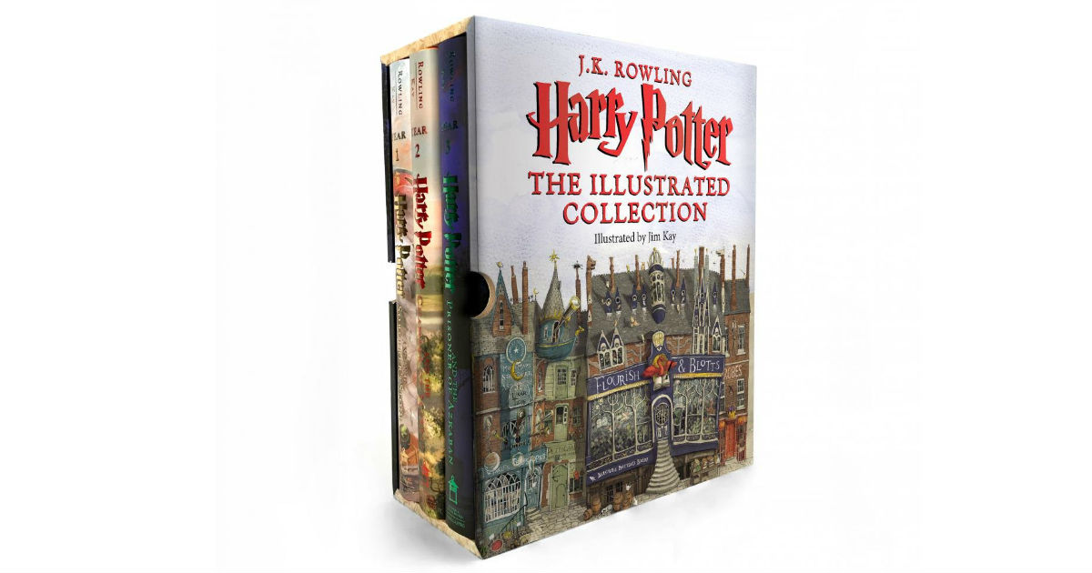 Save 53% on Harry Potter: The Illustrated Collection on Amazon