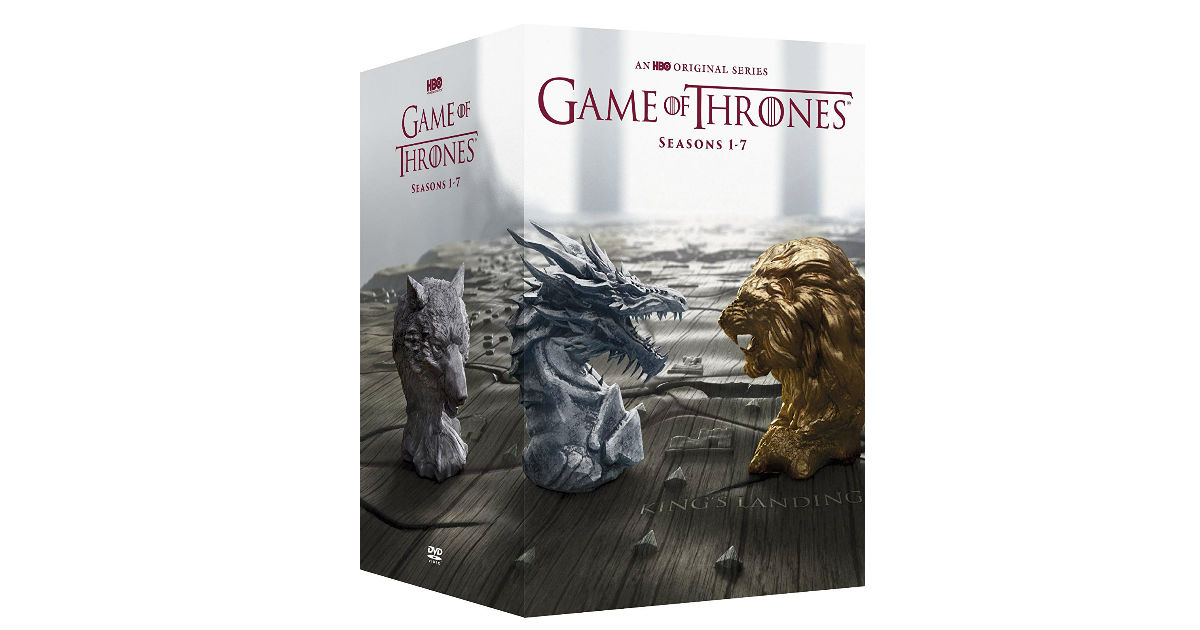 Save 63% on The Complete Series of Game of Thrones on Amazon