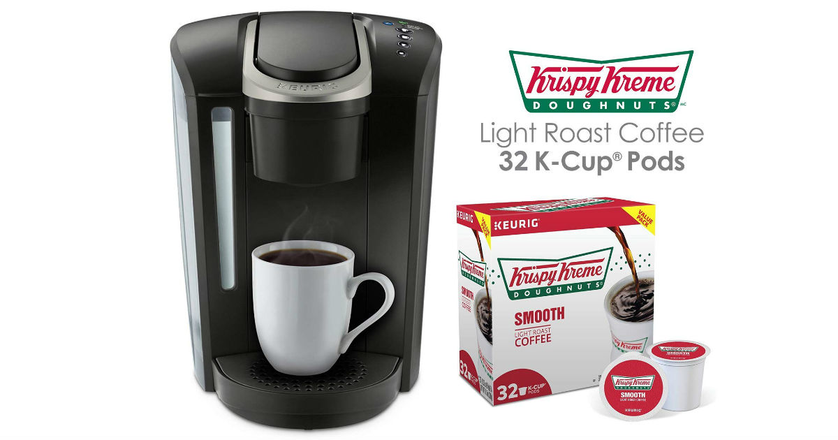Keurig K-Select + Krispy Kreme Coffee Pods ONLY $89.99