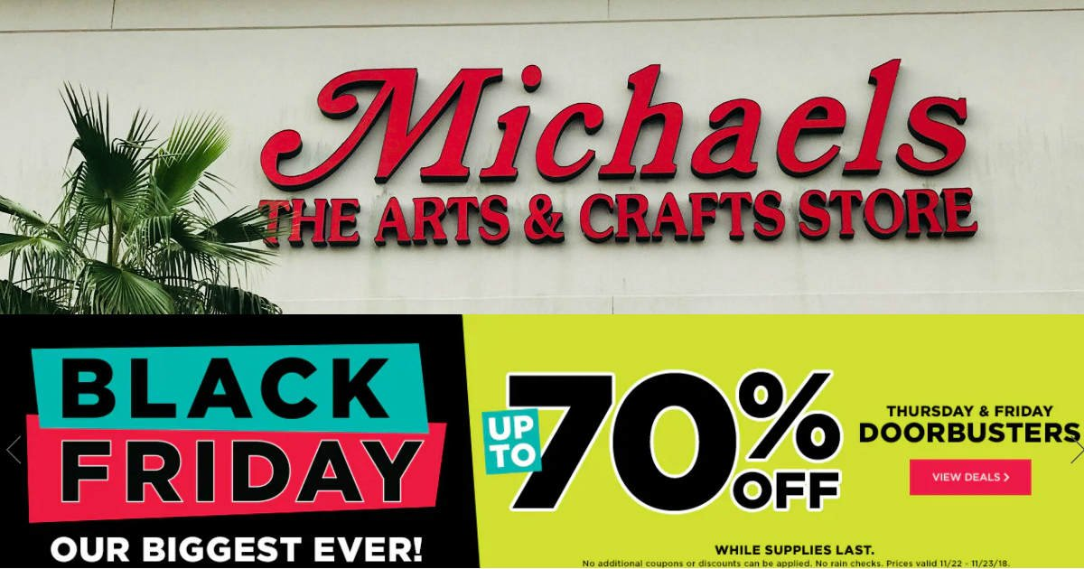 Michaels Black Friday