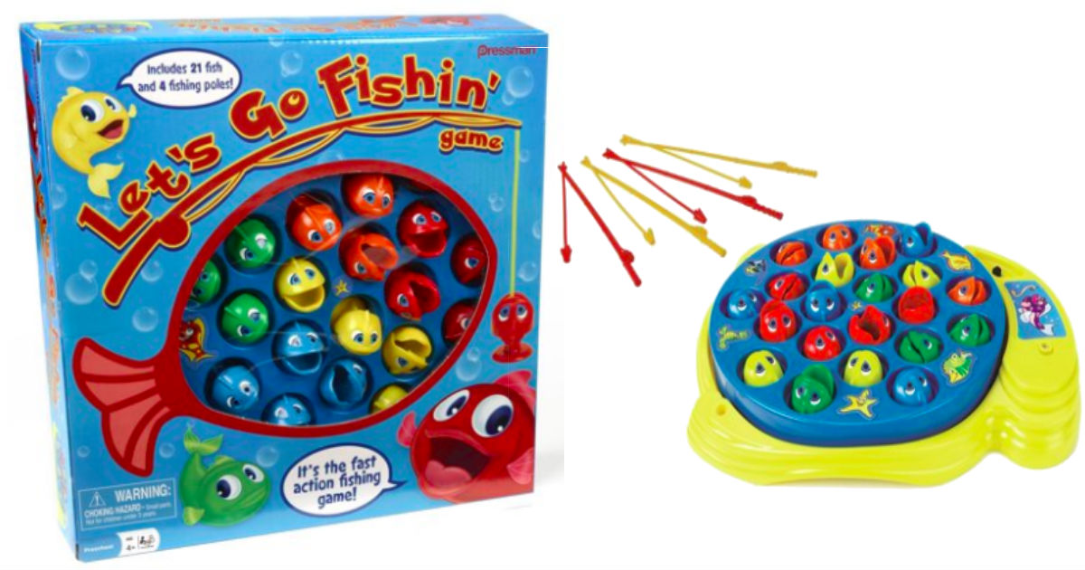 Let's Go Fishin' Game ONLY $5.