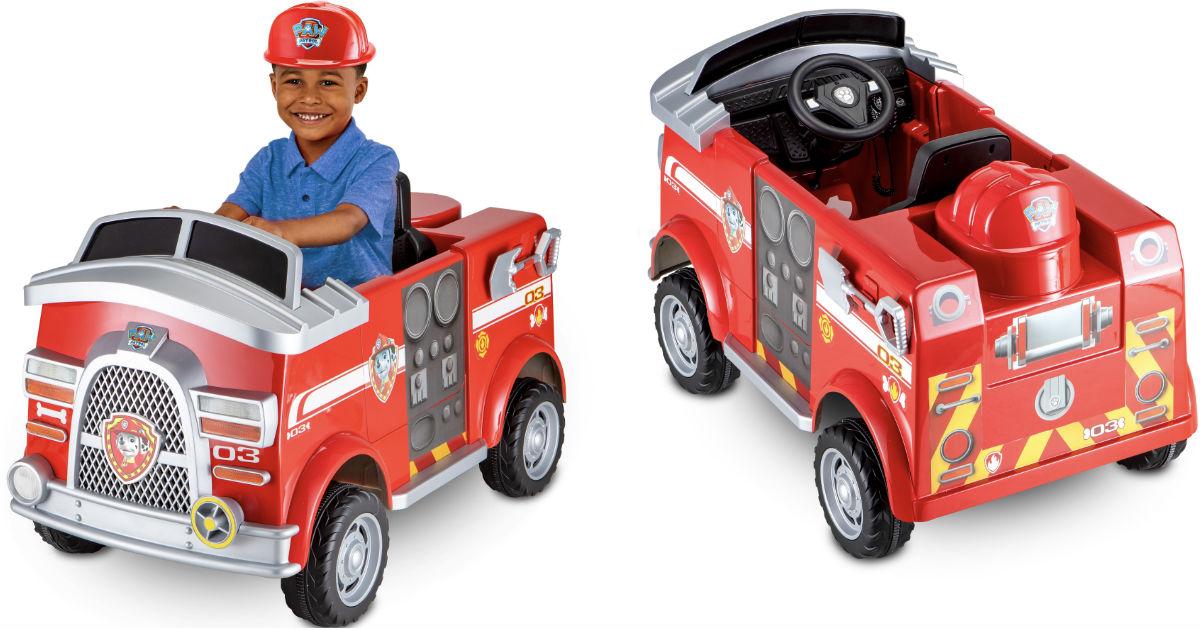 Paw Patrol Fire Truck 6 Volt R...