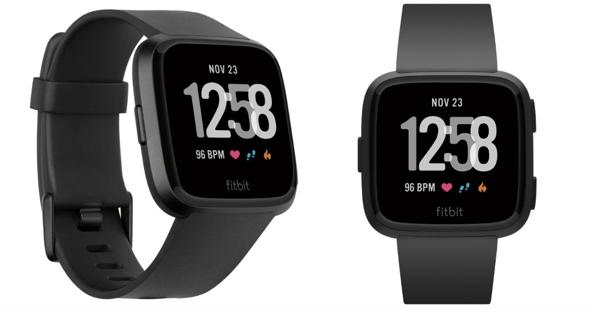 Fitbit Versa Smartwatch ONLY $149 (Regularly $200) Shipped