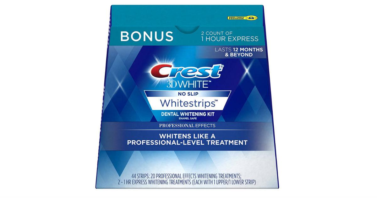 Crest 3D Whitestrips 22 Treatments ONLY $27.99 (Reg. $68)