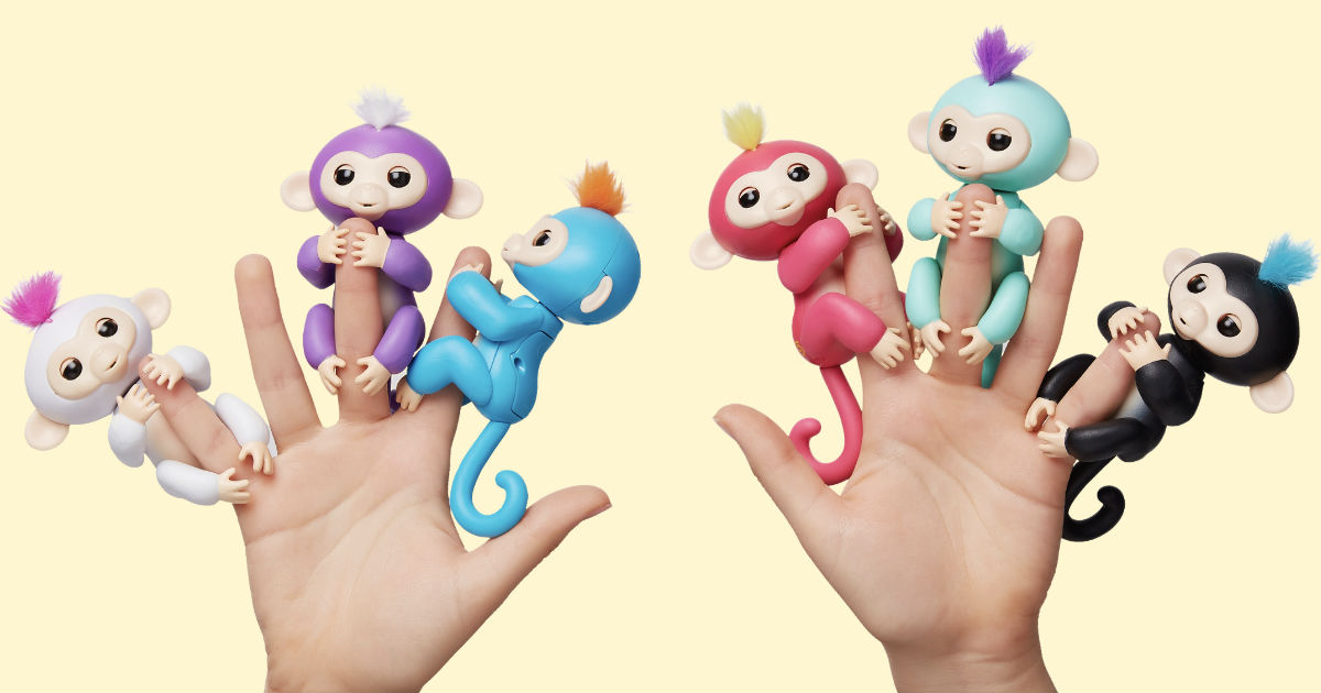 Fingerlings Monkeys ONLY $6.97...