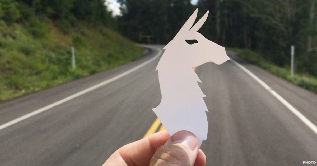FREE Llama Stickers...