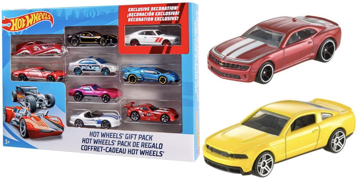 Hot Wheels 9-Car Gift Pack ONLY $5.97 at Walmart (Reg $10)