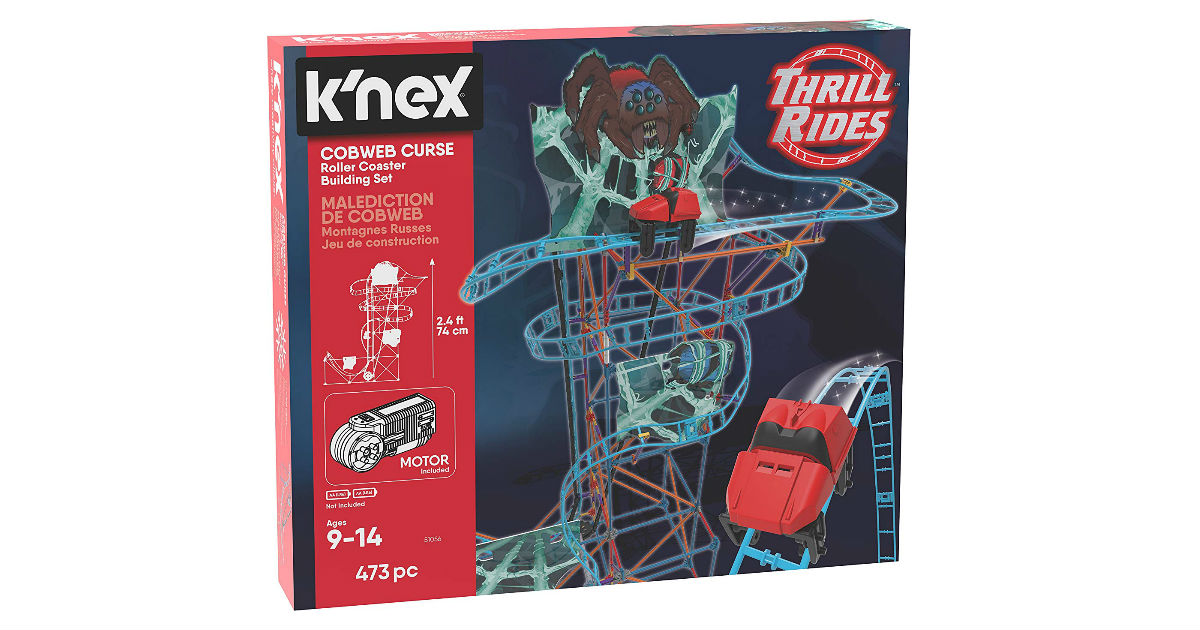 Save 64% on K'NEX Thrill Rides ONLY $16.31 (Reg. $45)
