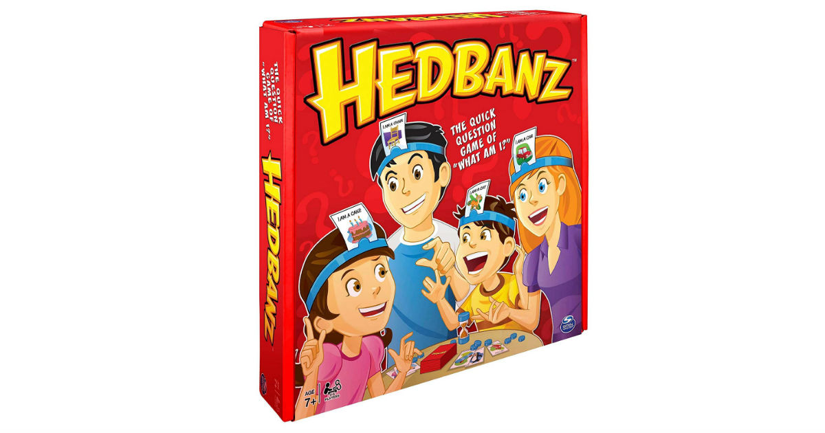 HedBanz Family Guessing Game ONLY $5.30 (Reg. $20)