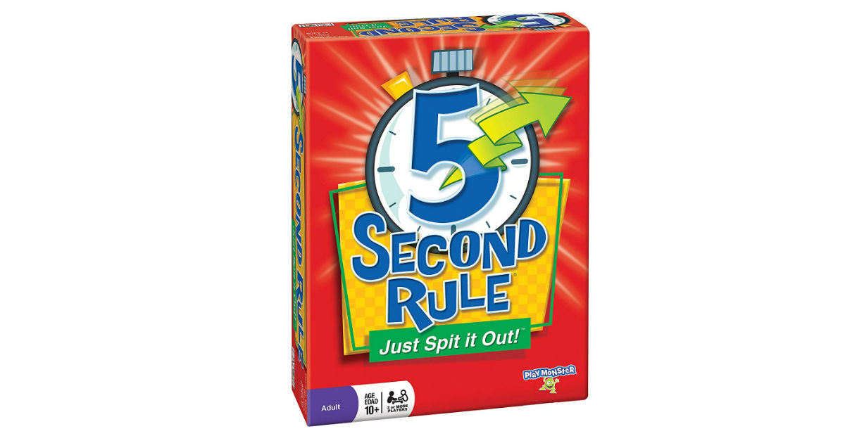 5 Second Rule New Edition Game ONLY $11.497Shipped (Reg. $20)