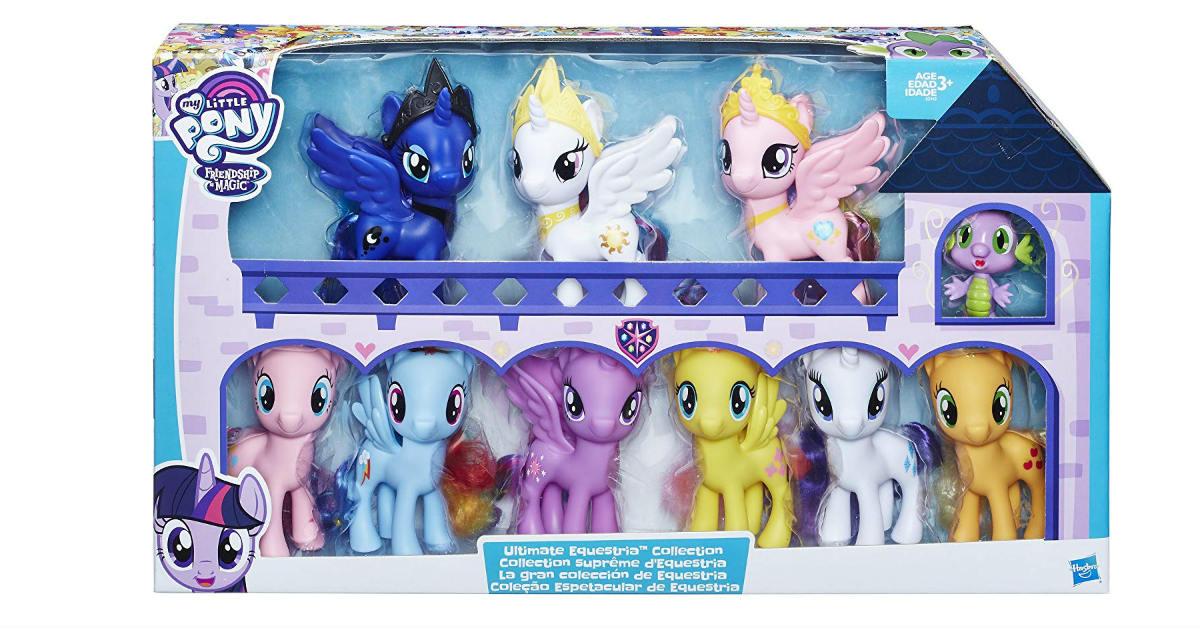 My Little Pony 10-Figure Set ONLY $34.92 (Reg. $70)