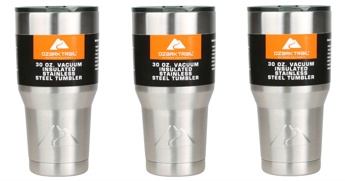 Free Ozark Trail 30-Ounce Tumbler at Walmart ($8.74 Value)