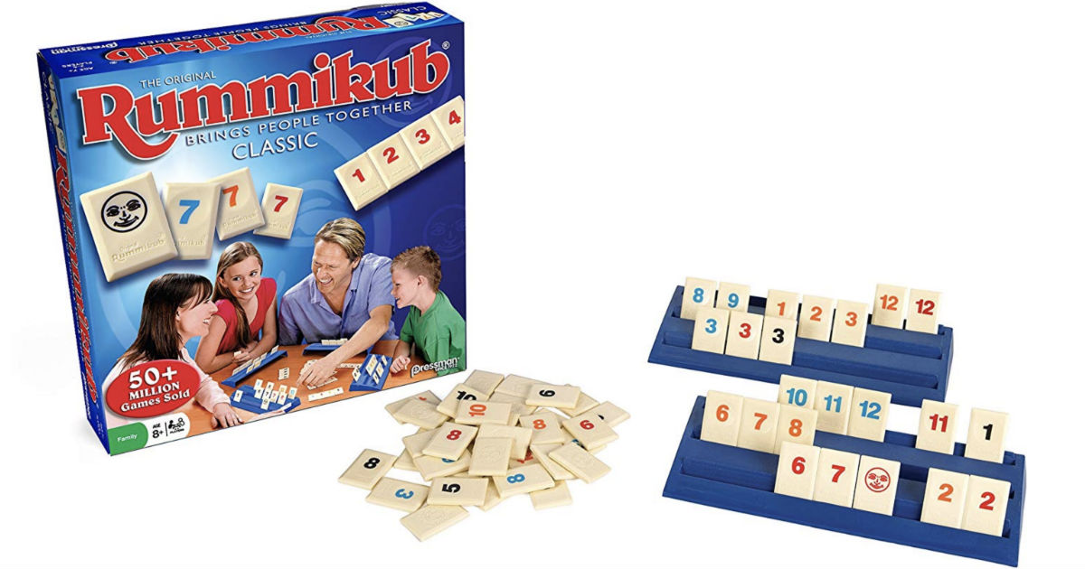 Rummikub Board Game ONLY $5.64...