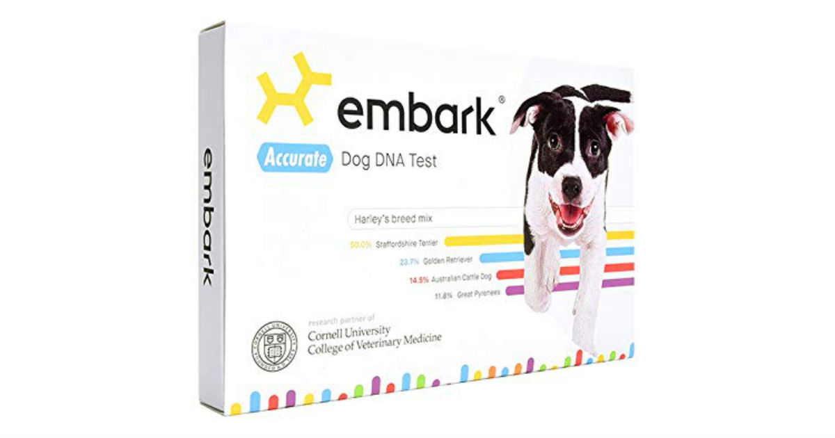 Embark Dog DNA Test Kit ONLY $129 (Reg. $199)