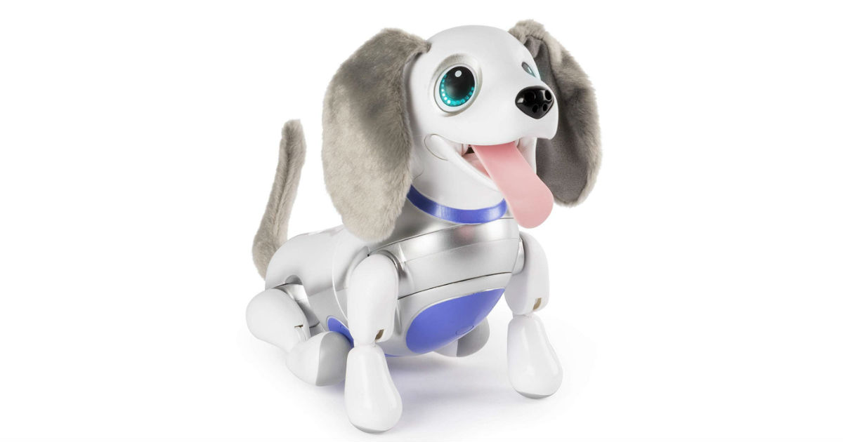 Zoomer Playful Robotic Pup ONLY $52.49 (Reg. $100)
