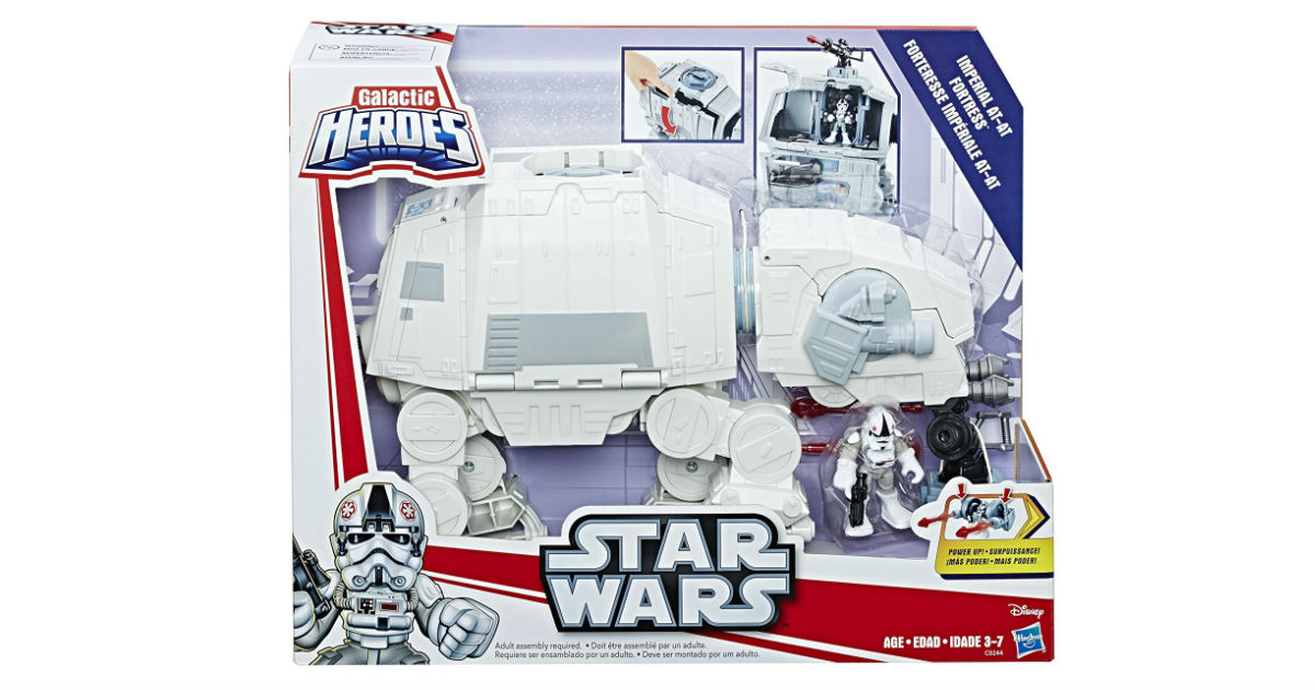 Star Wars Galactic Heroes Fortress ONLY $13.99 (Reg. $30)