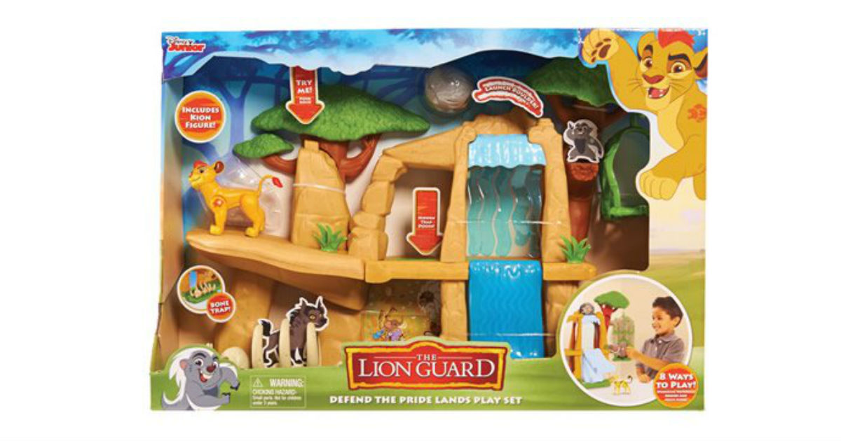 Save 60% on Disney Lion Guard Play Set ONLY $14.09 (Reg. $35)
