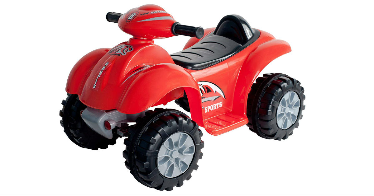 Save 56% on Lil' Rider Quad ONLY $52.76 (Reg. $120)