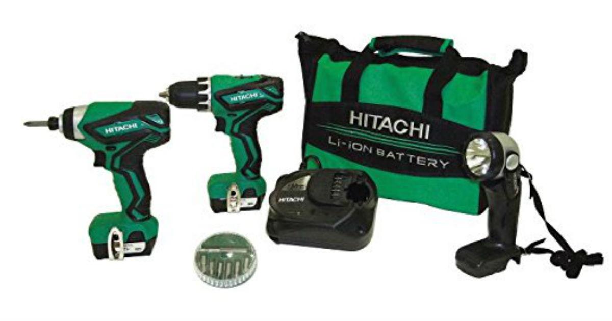 Hitachi Drill Combo Kit ONLY $69 Shipped (Reg. $150)