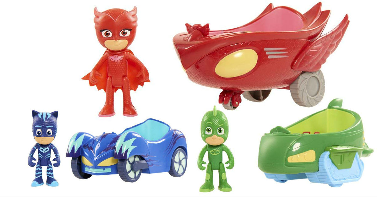 Save 54% on PJ Mask Toys ONLY $5.97 (Reg. $13)