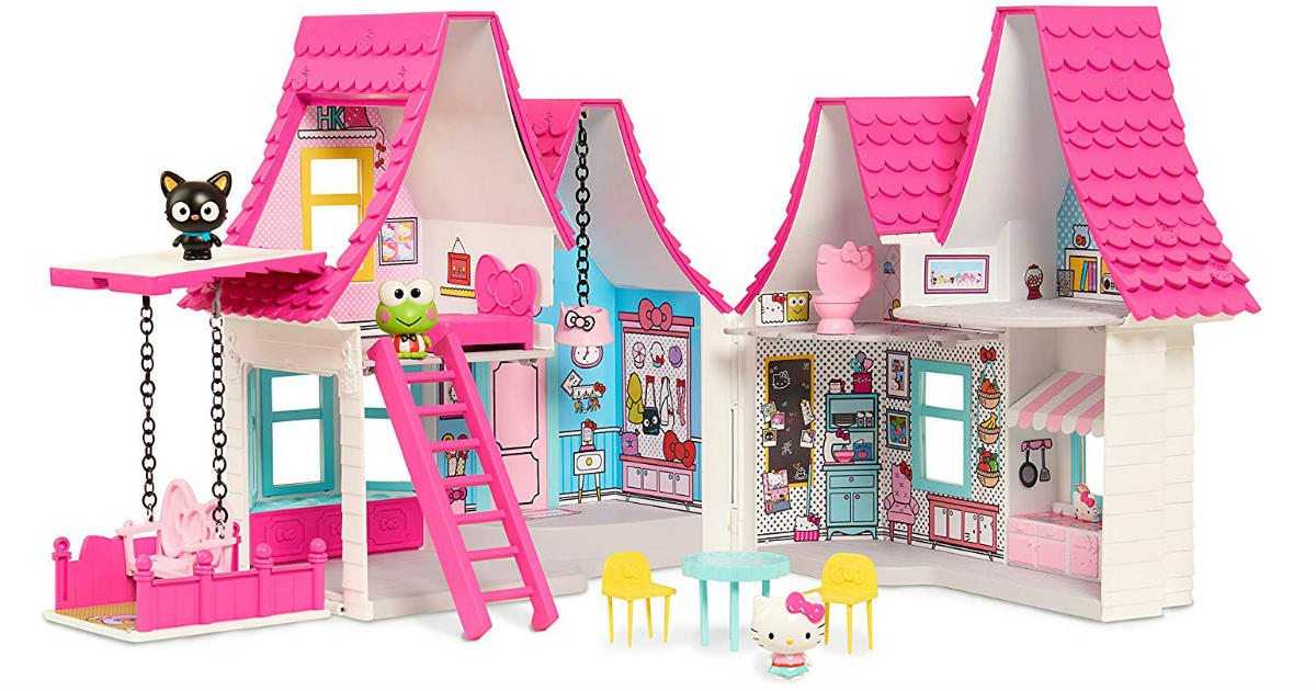 Save 55% on Hello Kitty Doll House ONLY $31.59 (Reg. $70)
