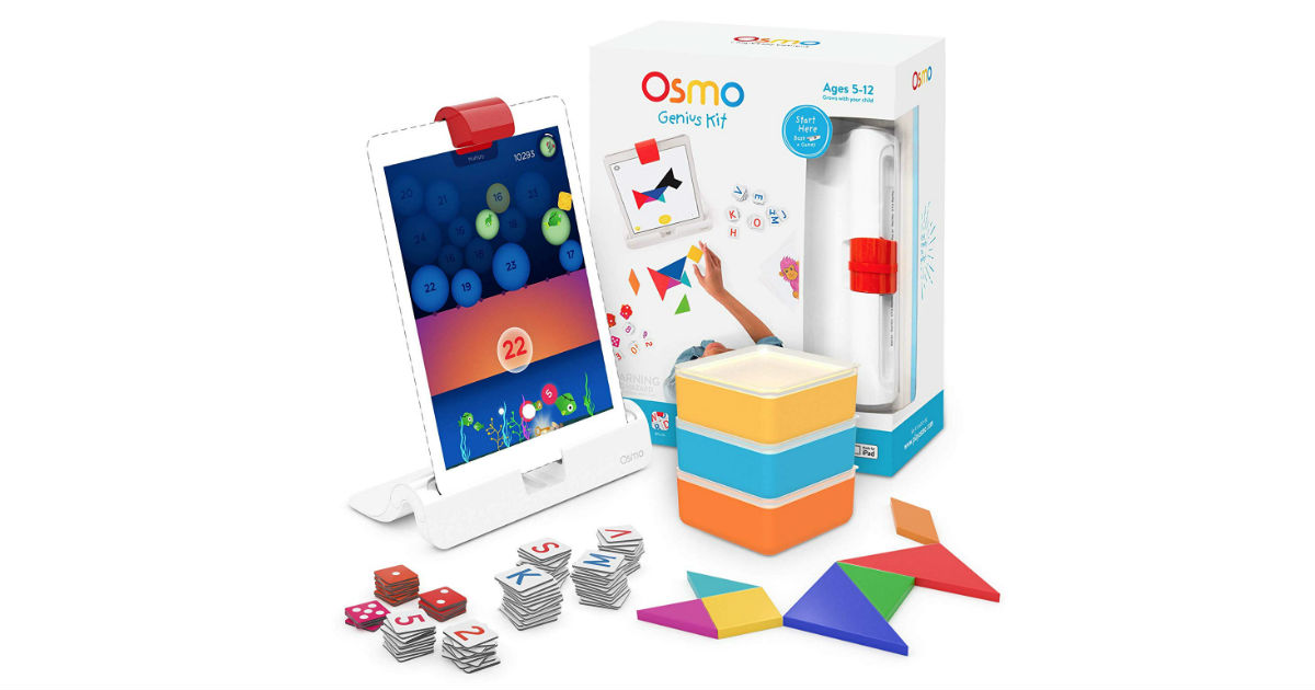 Osmo Genius Kit for iPad ONLY $69.99 (Reg. $100)