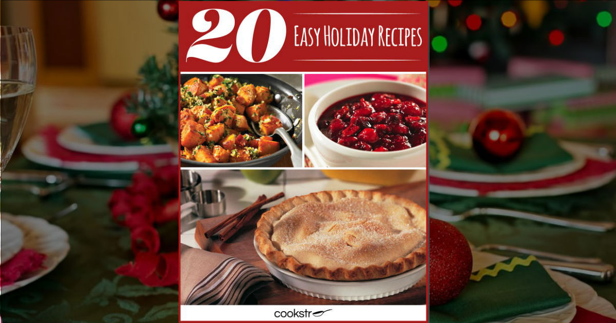 COOKSTR Holiday Recipe Book